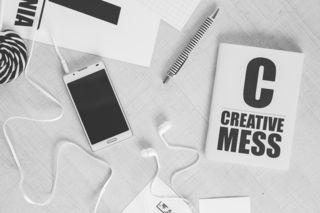 Creative-smartphone-notebook-typography-medium